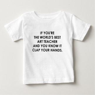 IF YOU'RE THE WORLDS BEST ART TEACHER.png Baby T-Shirt