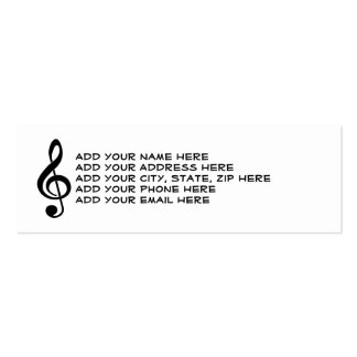 If You've Got It - Flaut It Skinny Business Cards
