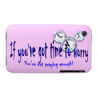 If You've Got Time to Worry... iPhone 3 Covers