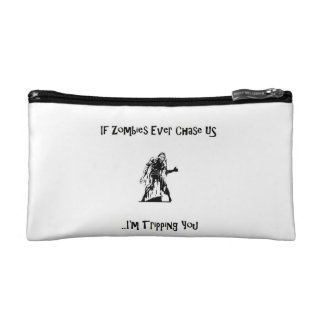 If Zombies Ever Chase Us Small Cosmetic Bag