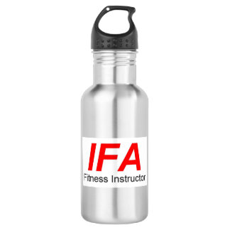IFA Fitness Instructor Metal Water Bottle