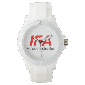 IFA Fitness Instructor Women's Sporty White Watch