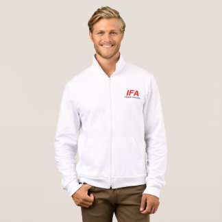 IFA Men's California Fleece Zip Jogger Jacket