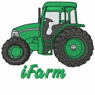 iFarm Tractor Embroidered Shirt