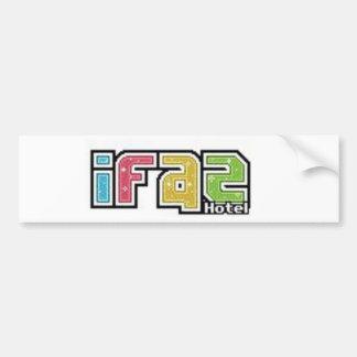 iFaz Hotel Store. Bumper Stickers