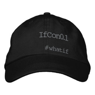 IfCon0.1Cap Embroidered Baseball Hat