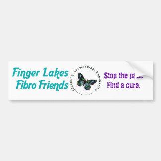 iFibro Friends Bumper Sticker