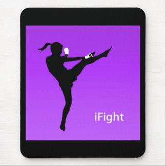 iFight girl mousepad