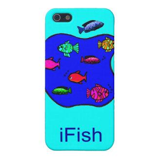 iFish - casos divertidos del iPhone iPhone 5 Protectores