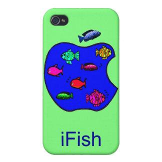 iFish - iPhone divertido 4 casos iPhone 4/4S Funda