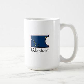 iFlag Alaska Classic White Coffee Mug
