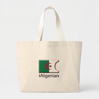 iFlag Algeria Jumbo Tote Bag
