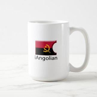 iFlag Angola Classic White Coffee Mug