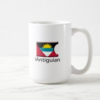 iFlag Antigua Classic White Coffee Mug