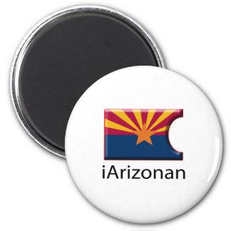 iFlag Arizona 2 Inch Round Magnet