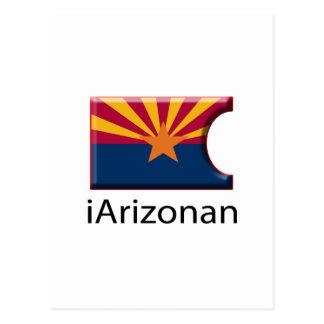 iFlag Arizona Postcard