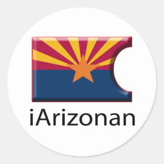 iFlag Arizona Classic Round Sticker