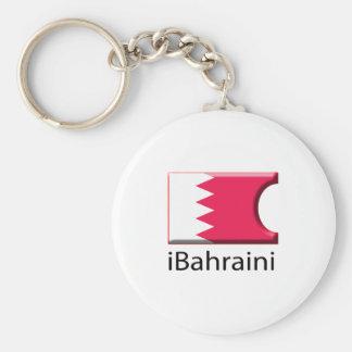 iFlag Bahrein Llavero Redondo Tipo Pin
