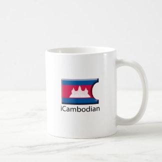 iFlag Cambodia Coffee Mug