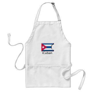 iFlag Cuba Adult Apron