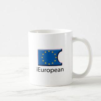 iFlag Europe Classic White Coffee Mug
