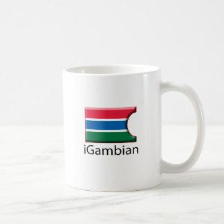 iFlag Gambia Taza De Café