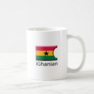 iFlag Ghana Classic White Coffee Mug
