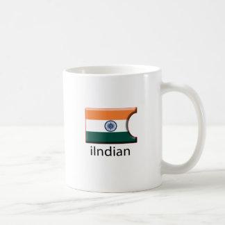 iFlag India Classic White Coffee Mug
