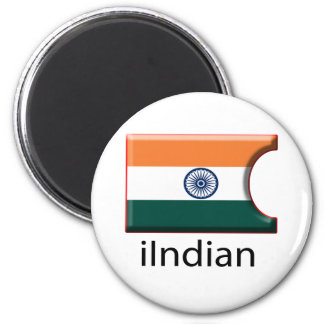 iFlag India 2 Inch Round Magnet