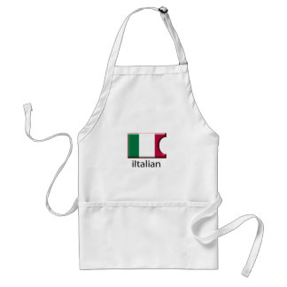 iFlag Italy Adult Apron