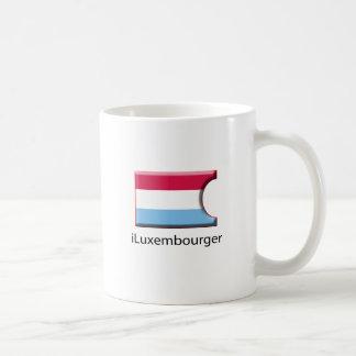 iFlag Luxembourg Classic White Coffee Mug
