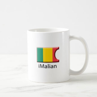 iFlag Mali Classic White Coffee Mug