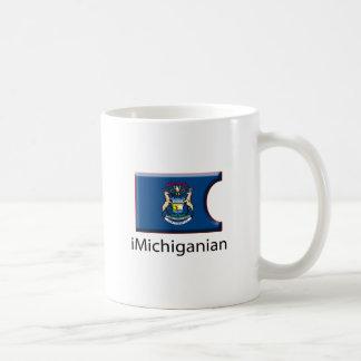 iFlag Michigan Classic White Coffee Mug