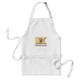 iFlag New Jersey Adult Apron