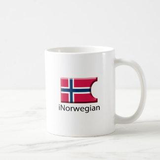iFlag Norway Classic White Coffee Mug