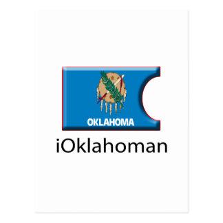 iFlag Oklahoma Postcard