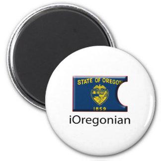 iFlag Oregon 2 Inch Round Magnet