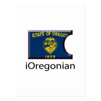iFlag Oregon Postcard