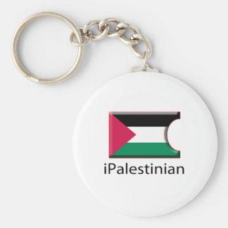 iFlag Palestine Basic Round Button Keychain