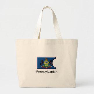 iFlag Pennsylvania Large Tote Bag
