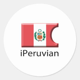 iFlag Peru Stickers