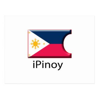 iFlag Philippines Postcard
