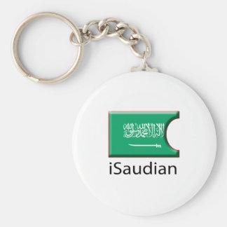 iFlag Saudi Arabia Keychain