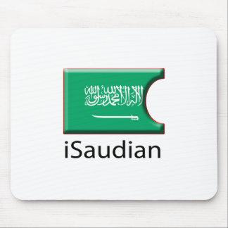 iFlag Saudi Arabia Mouse Pad