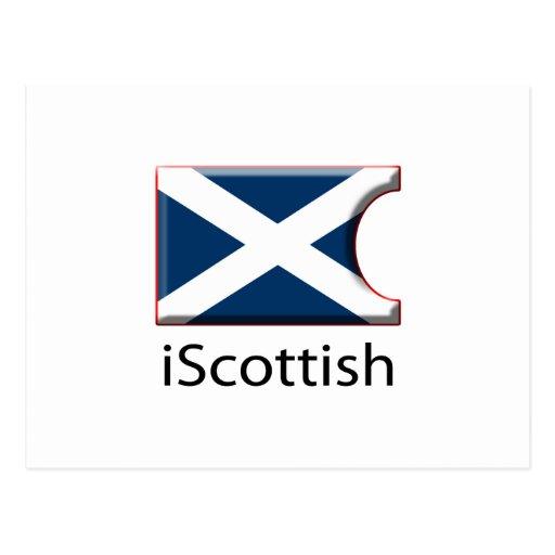 iFlag Scotland Postcard