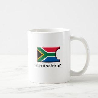 iFlag South Africa Classic White Coffee Mug