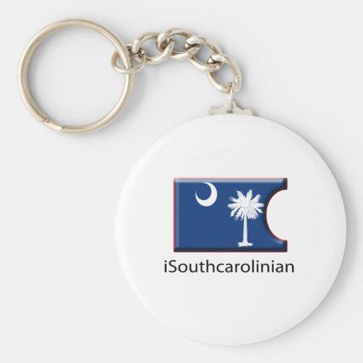 iFlag South Carolina Keychains