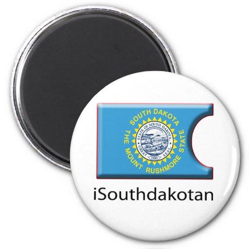 iFlag South Dakota Refrigerator Magnet