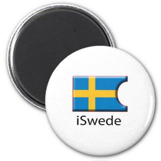iFlag Sweden 2 Inch Round Magnet