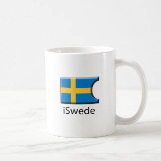 iFlag Sweden Classic White Coffee Mug